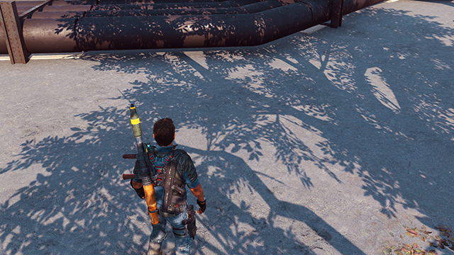Just Cause 3 - Shadow Quality Interactive Comparison #001 - Very High vs. Low