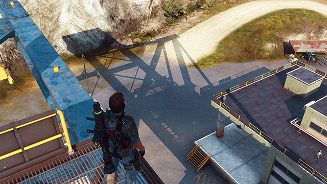Just Cause 3 - Shadow Quality Interactive Comparison #002 - Very High vs. Low
