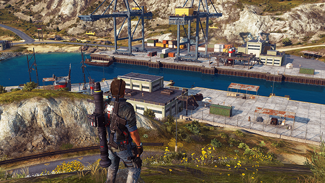 Just Cause 3 - SSAO (Screen Space Ambient Occlusion) Interactive Comparison #003 - On vs. Off