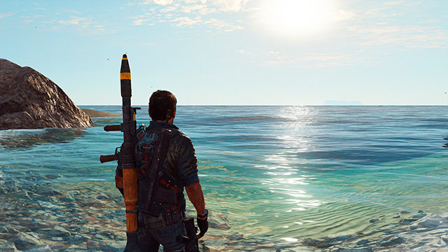 Just Cause 3 - Water Tessellation Interactive Comparison #001 - On vs. Off