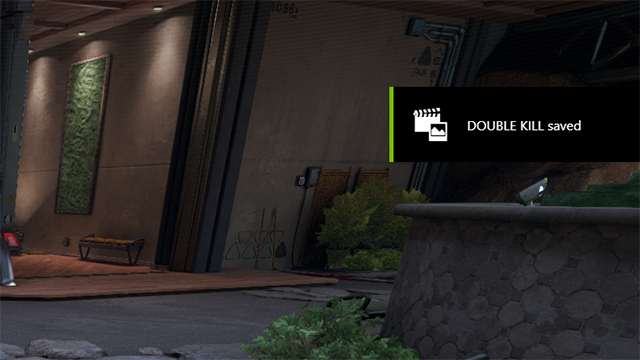 NVIDIA Highlights in LawBreakers: An in-game notification, which can be disabled in GeForce Experience's settings, tells you when a Highlight has been saved