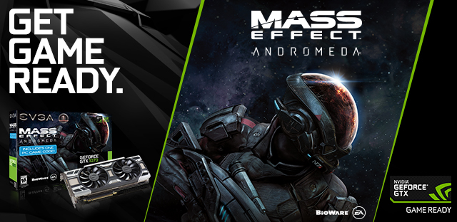 Mass Effect: Andromeda NVIDIA GeForce GTX, Best Buy, EA, EVGA GeForce GTX 1070 Bundle