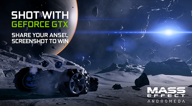 Mass Effect: Andromeda GeForce.com NVIDIA Ansel Contest