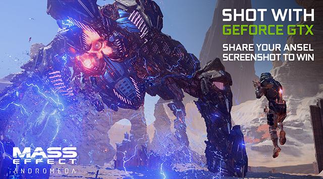 Mass Effect: Andromeda GeForce.com NVIDIA Ansel Contest