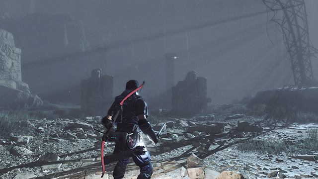 Metal Gear Survive's Volumetric Lighting is of a much higher quality on PC