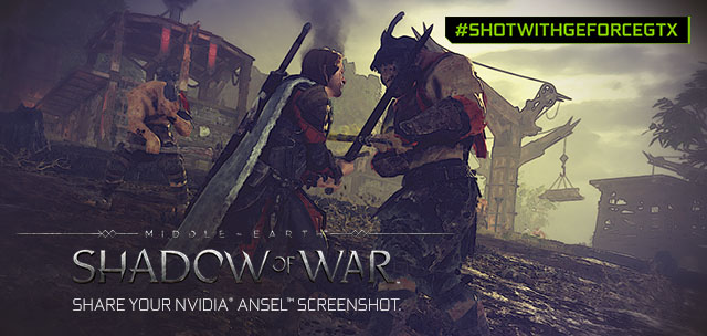 Middle-earth: Shadow of War NVIDIA Ansel Contest