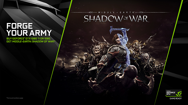 Middle-earth: Shadow of War NVIDIA GeForce GTX Bundle