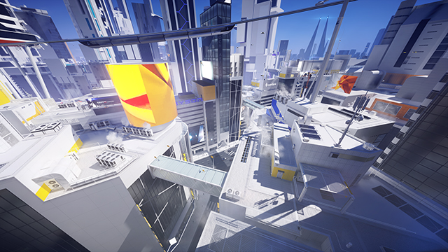 Mirror's Edge Catalyst - GeForce GTX 1080 Hyper Settings Interactive Comparison #002 - Mesh Quality Hyper vs. Ultra