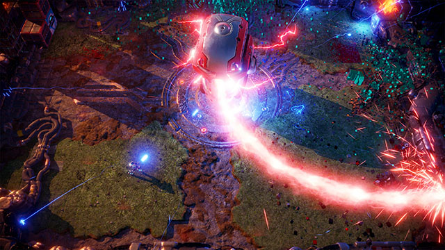 <em>Nex Machina</em> PC Version Announcement Screenshot #001
