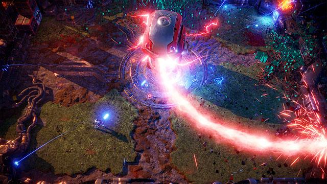 Nex Machina PC Version Announcement Screenshot #001