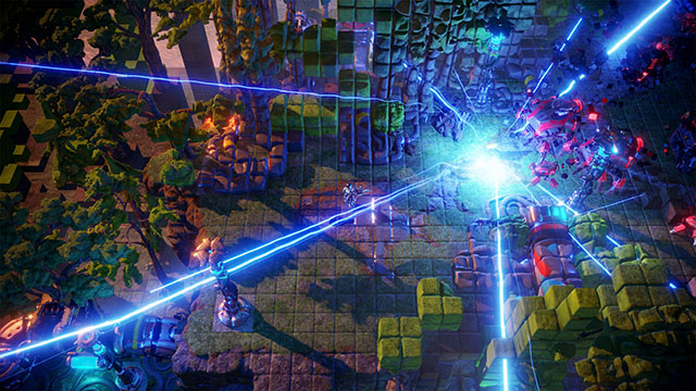Nex Machina PC Version Announcement Screenshot #002