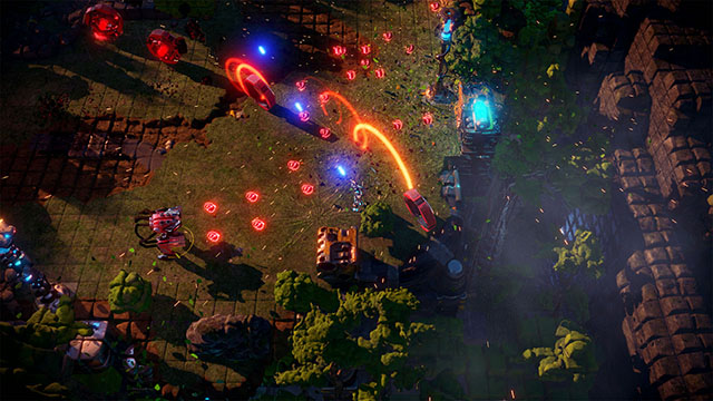 <em>Nex Machina</em> PC Version Announcement Screenshot #003