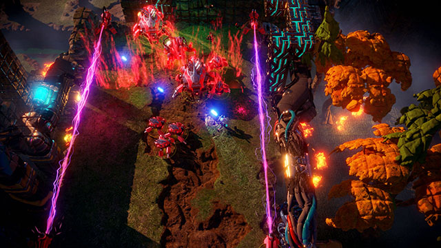 <em>Nex Machina</em> PC Version Announcement Screenshot #004