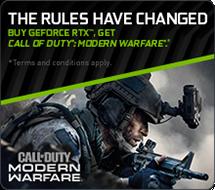 GeForce RTX, Get Modern Warfare Bundle!!