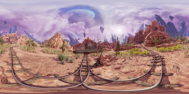 NVIDIA Ansel: Obduction 360 Degree Photosphere Screenshot