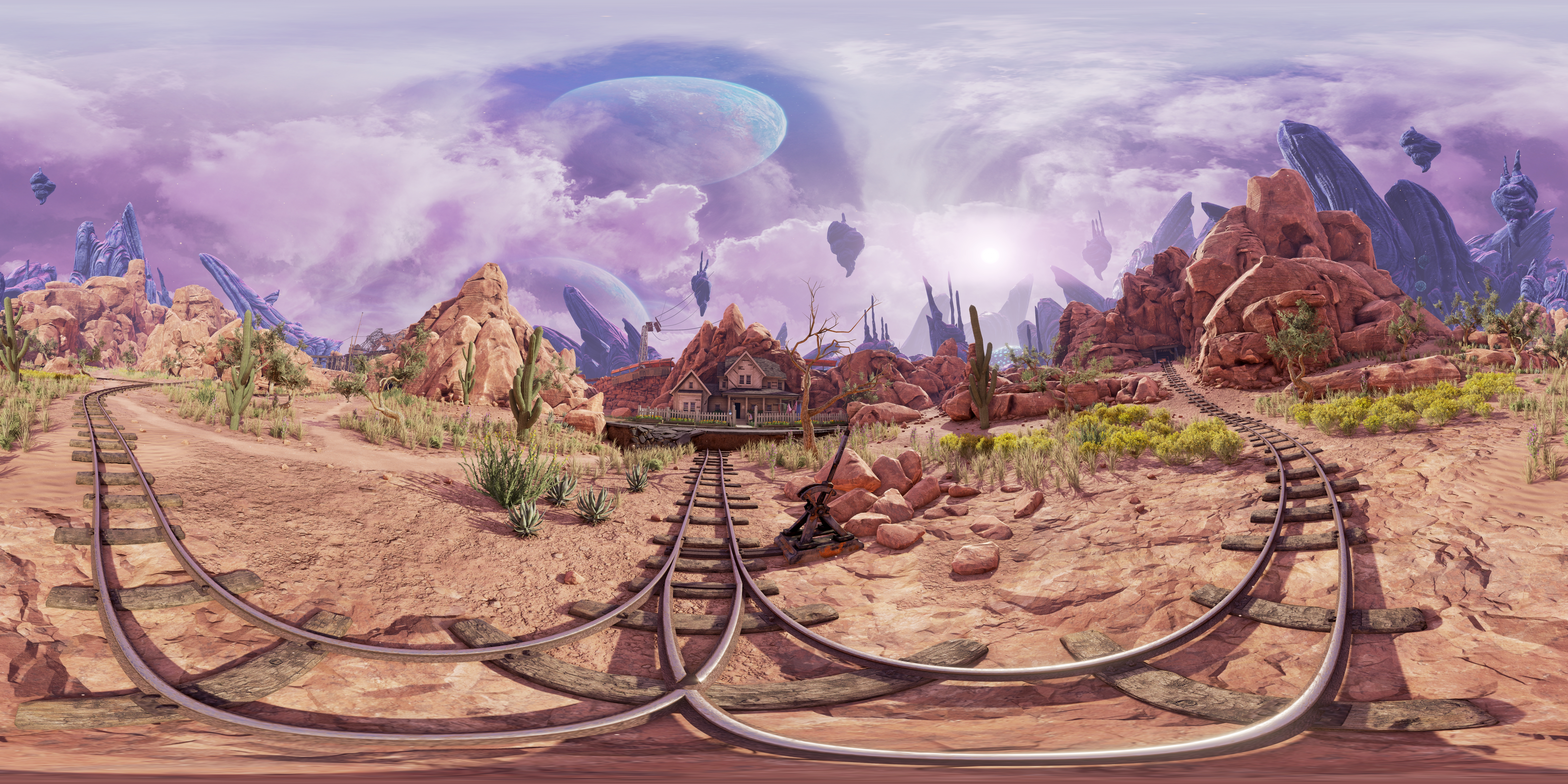 NVIDIA Ansel Obduction 360 Degree Photosphere Screenshot