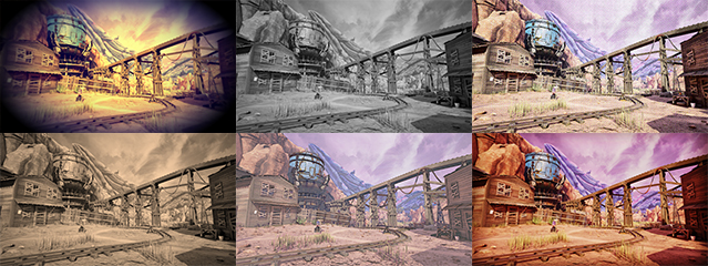 NVIDIA Ansel: Obduction Filter Collage