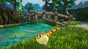 NVIDIA Ansel: Snake Pass Free Camera Screenshot