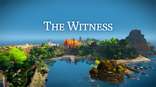 NVIDIA Ansel: The Witness Key Image