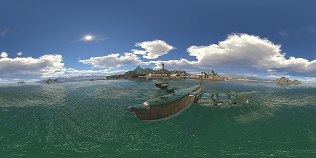 NVIDIA Ansel: War Thunder 360 Degree Photosphere Screenshot