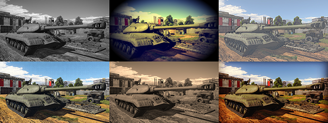 NVIDIA Ansel: War Thunder Filter Collage