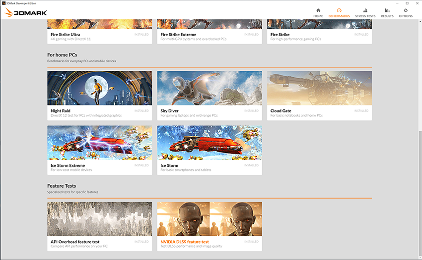 3DMark Benchmarks and Tests