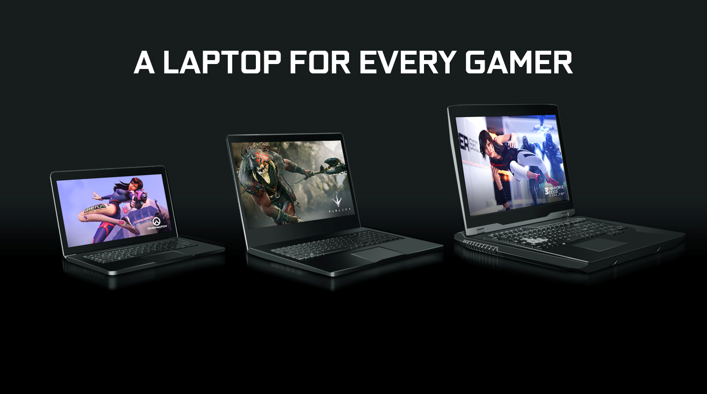 gaming laptops with gtx 10 series