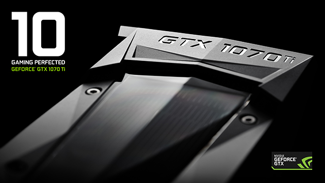 NVIDIA GeForce GTX 1070 Ti Key Visual