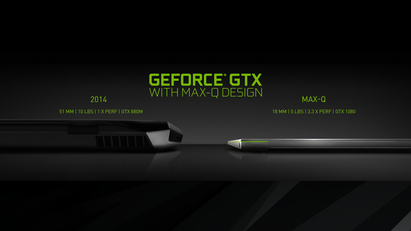 introducing geforce gtx laptops with maxq design thin