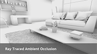 Ray Traced Ambient Occlusion will ensure near-perfect contact shadowing scene-wide, enable ambient occlusion shadowing on occluded objects, and enable ambient occlusion shadowing behind the player camera, affecting the appearance of what can be seen