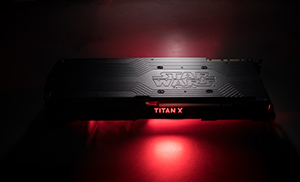 NVIDIA TITAN Xp Star Wars Collector's Edition - Galactic Empire GPU Photo #006