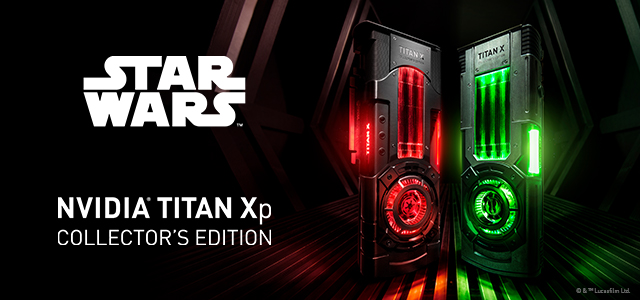 NVIDIA TITAN Xp Star Wars Collector's Edition Key Visual