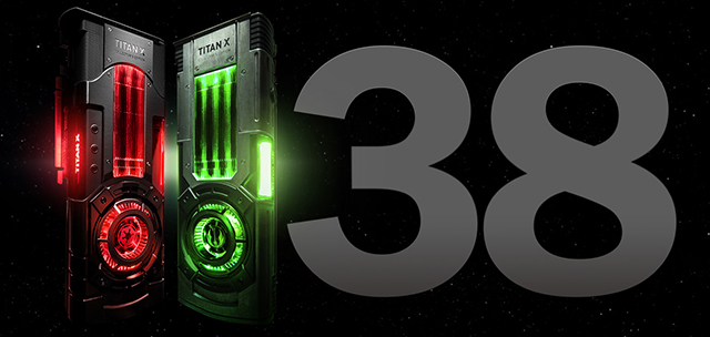 NVIDIA TITAN Xp Star Wars Collector's Edition 1138 Holiday Discount Voucher