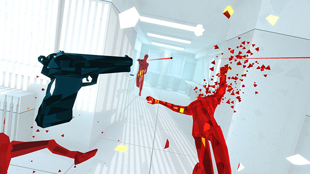 Oculus Touch Game Ready Game - SUPERHOT