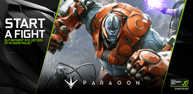 NVIDIA GeForce GTX Game Ready Paragon Bundle