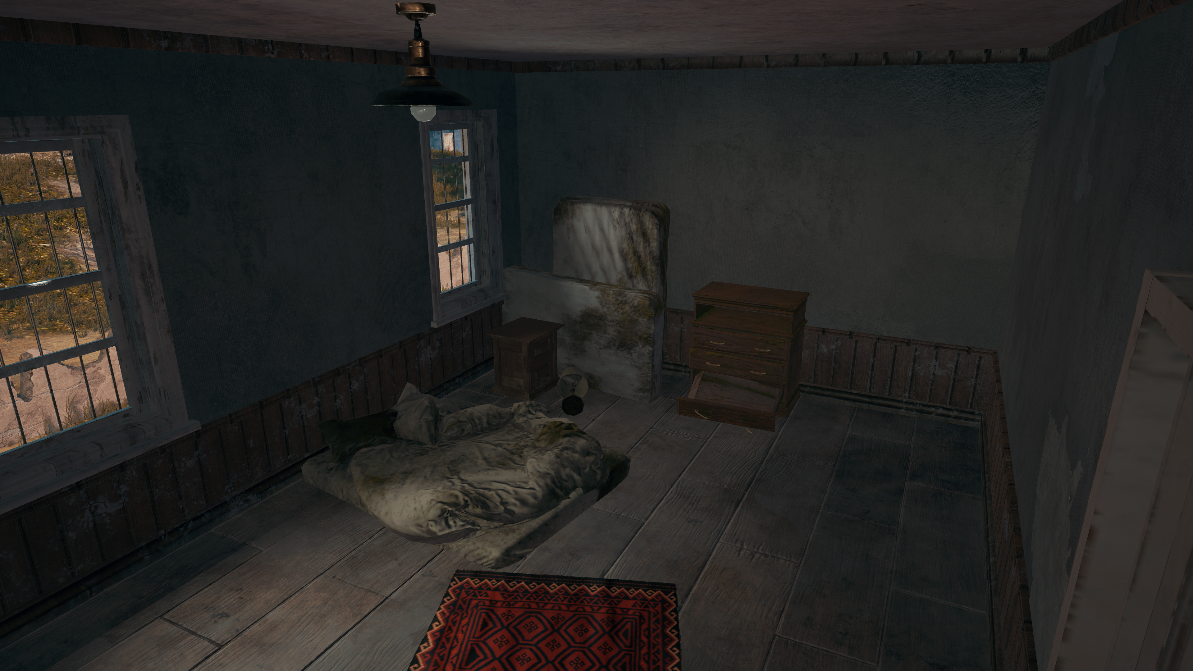 Room At Bottom Of House