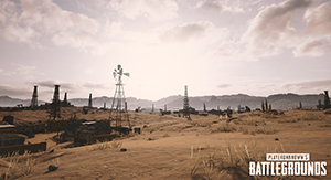 PlayerUnknown's Battlegrounds NVIDIA-Exclusive Desert Map Screenshot #002