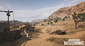 PlayerUnknown's Battlegrounds NVIDIA-Exclusive Desert Map Screenshot #003
