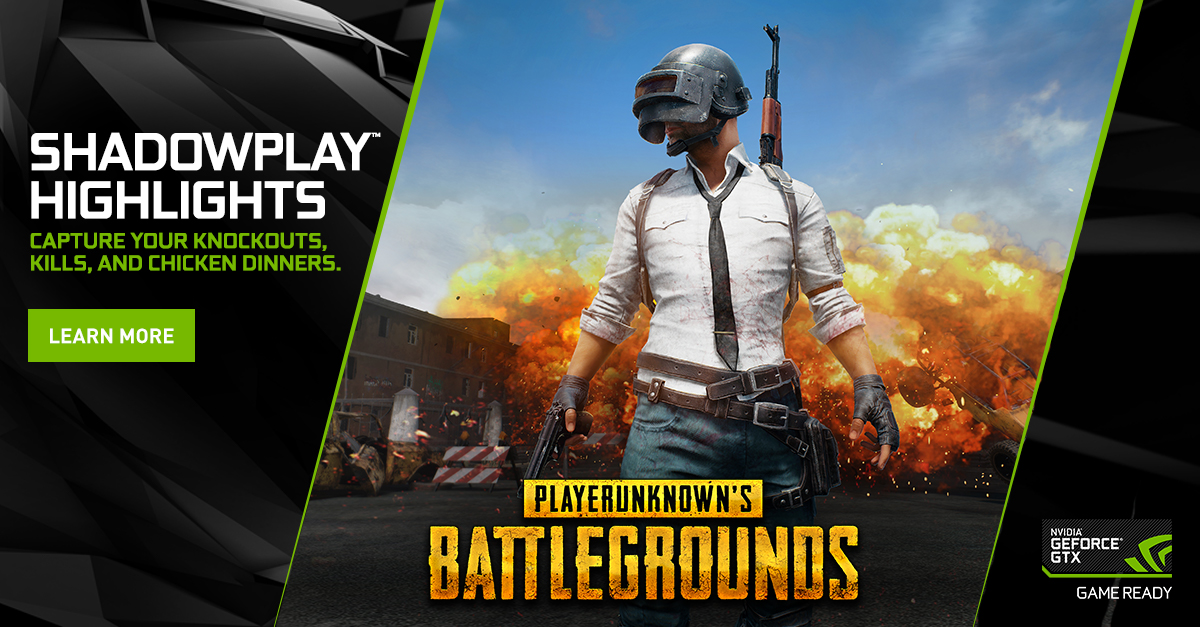How To Use Nvidia Highlights In Playerunknown S Battlegrounds Pubg Geforce