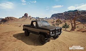 PlayerUnknown's Battlegrounds (PUBG) Desert Map Vehicle Screenshot #001