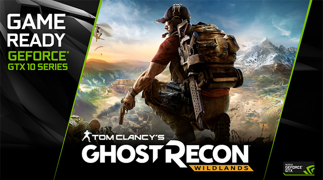 NVIDIA Prepare For Battle 'For Honor' and 'Ghost Recon Wildlands' GeForce GTX 1070 and GeForce GTX 1080 Bundle
