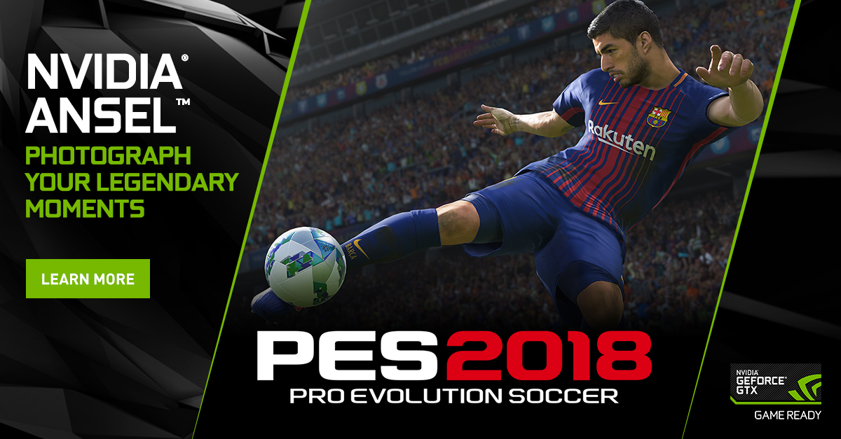 Pro Evolution Soccer 2018: Capture The Beautiful Game From