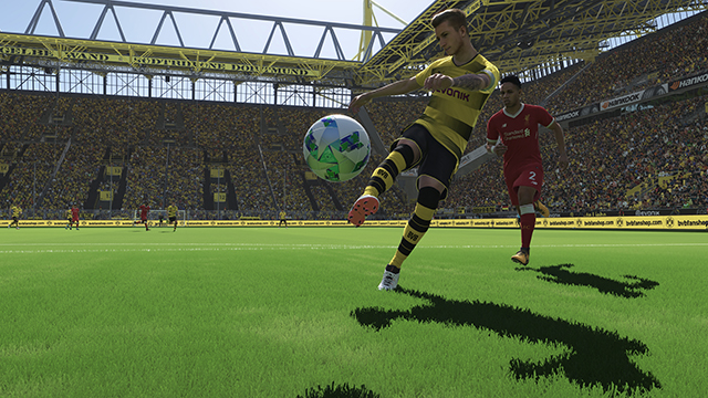 Pro Evolution Soccer 2018 NVIDIA Ansel 8K Super Resolution Screenshot