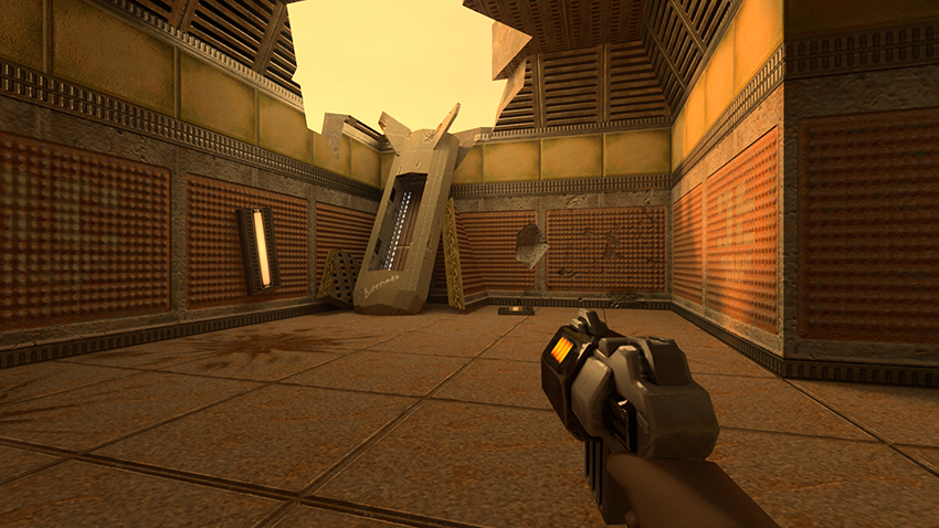 Quake II RTX Interactive Comparison #007 - Version 1.2 vs. Version 1.1