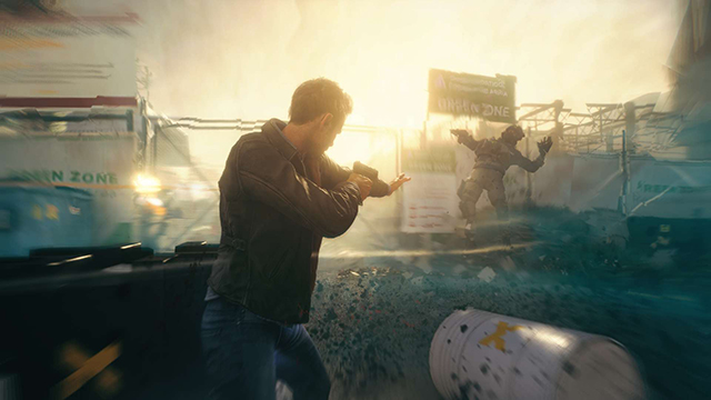 Quantum Break PC Announcement Screenshot