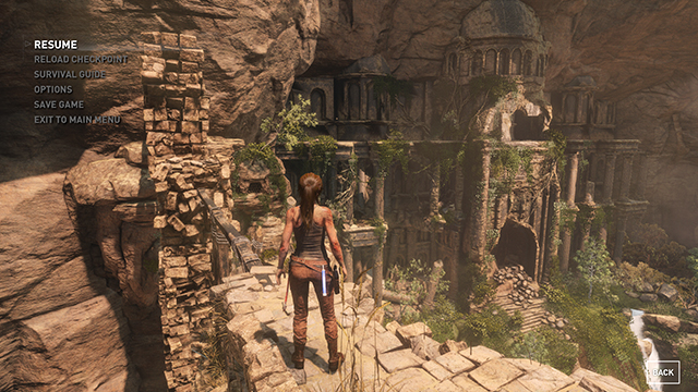 Rise of the Tomb Raider - Ambient Occlusion Interactive Comparison #001 - NVIDIA HBAO+ vs. On