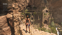 Rise of the Tomb Raider - Ambient Occlusion Example #001 - AO Disabled