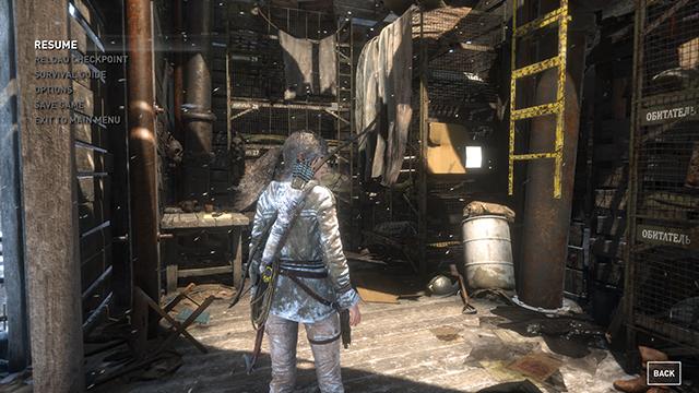 Rise of the Tomb Raider - Ambient Occlusion Interactive Comparison #008 - NVIDIA VXAO vs. NVIDIA HBAO+