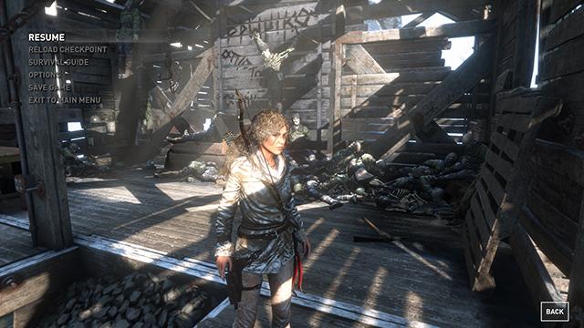 Rise of the Tomb Raider - Ambient Occlusion Interactive Comparison #009 - NVIDIA VXAO vs. NVIDIA HBAO+