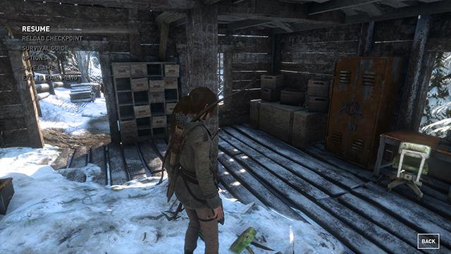 Rise of the Tomb Raider - Ambient Occlusion Interactive Comparison #010 - NVIDIA VXAO vs. NVIDIA HBAO+